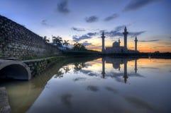 Lago da mesquita Jelutong Fotografia de Stock Royalty Free