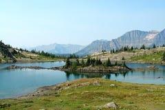 lago da montanha Fotos de Stock Royalty Free