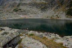 Lago da montanha de Rila Imagem de Stock
