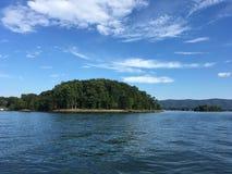 Lago da montanha de Smith Fotografia de Stock