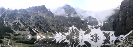 Lago da neve de Zakopane imagens de stock royalty free