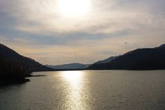 Lago da Paltinis Immagine Stock Libera da Diritti