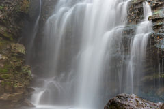 Lago da rocha da cachoeira Foto de Stock