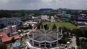 Lago da vista aérea em Malásia seremban vídeos de arquivo