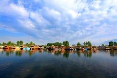 Lago Dal fotografia de stock