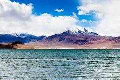 Lago DangQiong Foto de Stock