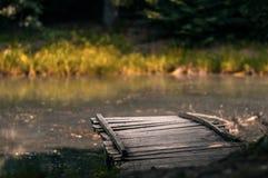 Lago das madeiras fotos de stock