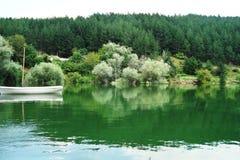 Lago das madeiras fotografia de stock