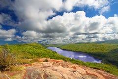 Lago das nuvens Michigan foto de stock royalty free