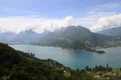Lago de Annecy em França Fotografia de Stock Royalty Free