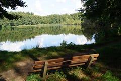 Lago de Appelbeck fotografia de stock royalty free