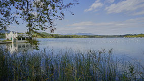Lago de Banyoles Fotos de archivo