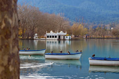 Lago de Banyoles Imagen de archivo