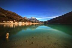 Lago de Barcis (Italia Imágenes de archivo libres de regalías