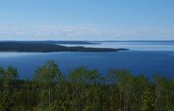 Lago de Carelia Fotografía de archivo libre de regalías
