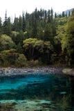 Lago de cinco colores Fotos de archivo