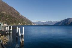 Lago de Como Imagem de Stock