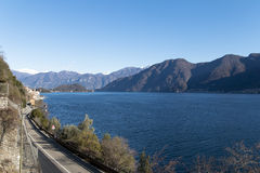 Lago de Como Fotografia de Stock Royalty Free