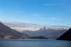 Lago de Como Imagens de Stock Royalty Free
