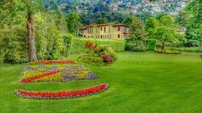Lago de Como Lombardía Italia fotos de archivo