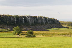 Lago de Cragg en Roman Wall Northumberland, Inglaterra Imagenes de archivo
