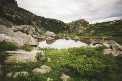 Lago de emigrar de los geants del DES del Tor foto de archivo libre de regalías