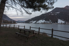 Lago de Endine Imagens de Stock Royalty Free
