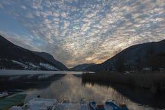 Lago de Endine Imagem de Stock