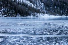Lago de Gioveretto Foto de archivo libre de regalías