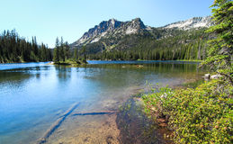Lago de herradura, Eagle Cap Wilderness, Oregon, los E.E.U.U. Fotos de archivo