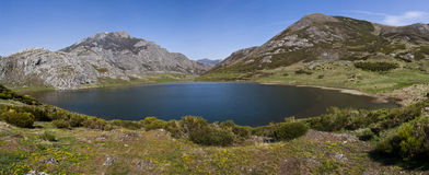 Lago de Isoba Stock Photography