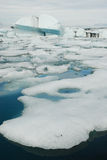 Lago de Jokulsarlon, al sur de Islandia imagen de archivo libre de regalías