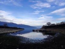 Lago de 01 Kerkini fotografía de archivo