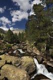 Lago de la alta montaña Foto de archivo libre de regalías