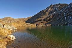 Lago de la laca de Balea Foto de archivo libre de regalías