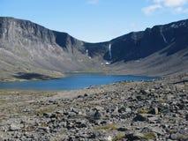 Lago de la montaña de Ð Foto de archivo