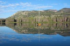 Lago de la montaña de Idaho Foto de archivo libre de regalías