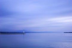 Lago de la tranquilidad Imagenes de archivo