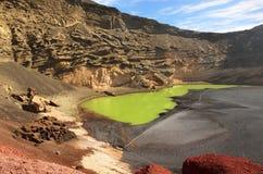 Lago de los Clicos, Lanzarote Stock Photos