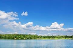 Lago de madera Foto de archivo