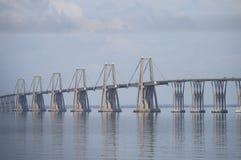Lago De Maracaïbo d'EL de sobre de Puente Photo libre de droits