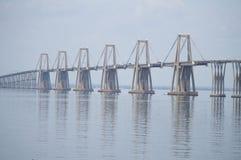 Lago De Maracaïbo d'EL de sobre de Puente Photo stock