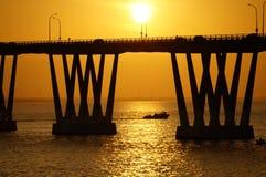 Lago de Maracaibo di EL del sobre di Puente Immagini Stock