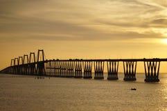 Lago de Maracaibo di EL del sobre di Puente Fotografia Stock