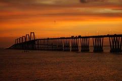 Lago de Maracaibo do EL do sobre de Puente Fotos de Stock