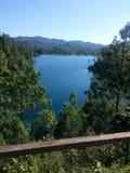 Lago de Montebello 免版税图库摄影