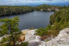 Lago de negligência Minnewaska Foto de Stock