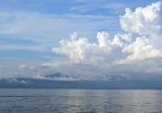 Lago de niebla para el fondo Imagen de archivo