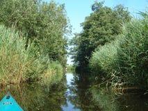 Lago de Nieuwkoop (Holanda) fotos de archivo