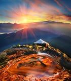 Lago de oro Foto de archivo